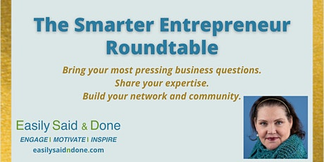 The Smarter Entrepreneur Roundtable tickets