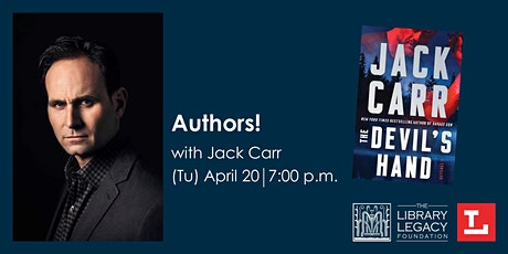 Authors! with Jack Carr tickets