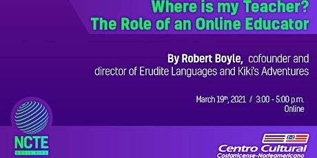 PD TALK III-2021:  Where is my Teacher? The Role of an Online Educator tickets
