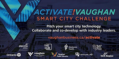 Activate!Vaughan Smart City Challenge  Live Q&A: Electric Mobility tickets