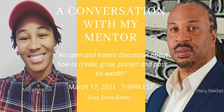 A Conversation With My Mentor tickets