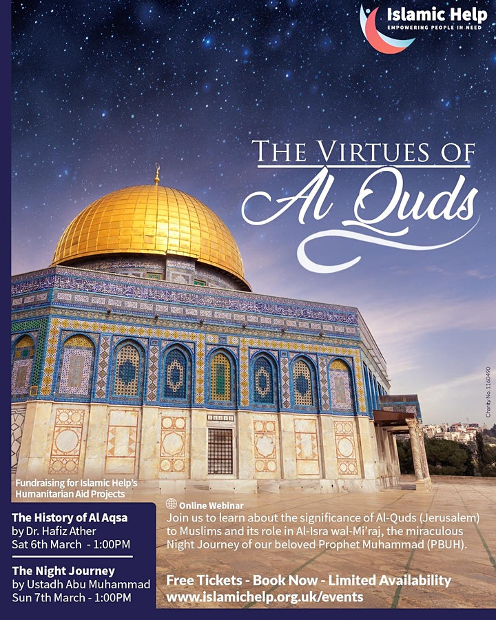 The History of Al Aqsa - Virtues of Al Quds - Part 1 image