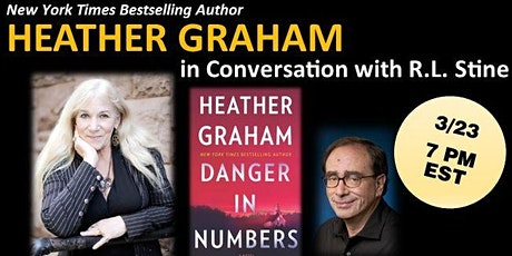 Heather Graham, DANGER IN NUMBERS  in Conversation with R.L. Stine tickets
