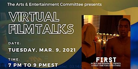 Virtual Film Talks: FIRST tickets