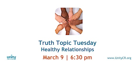 Truth Topic Tuesday | Healthy Relationships tickets