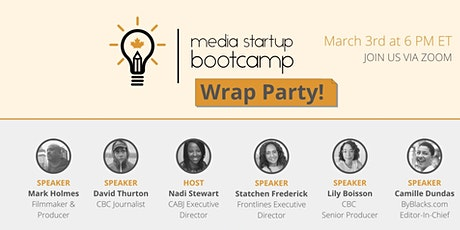 CABJ Media Startup Bootcamp Wrap Party tickets