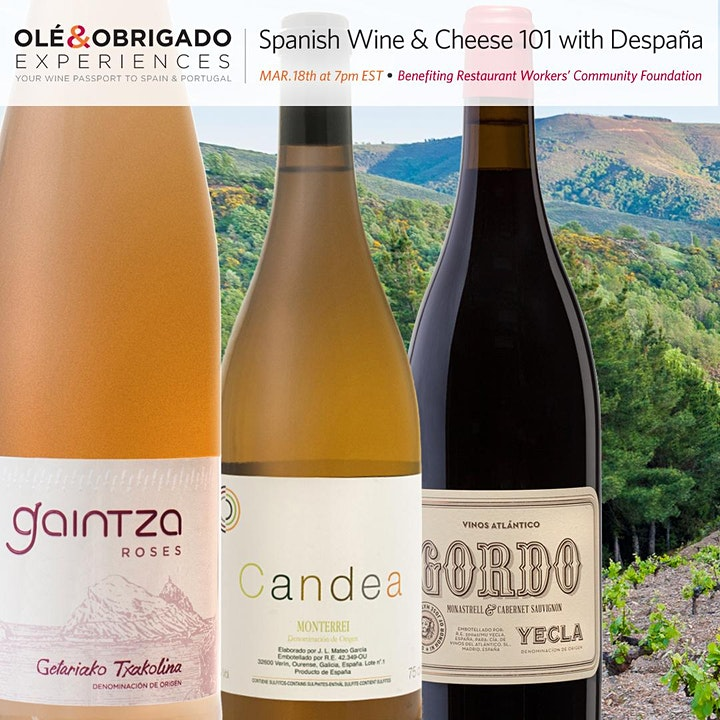 Spanish Wine & Cheese 101 with Despaña image
