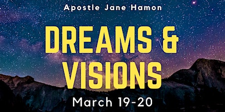 Dreams & Visions Workshop with Apostle Jane Hamon tickets