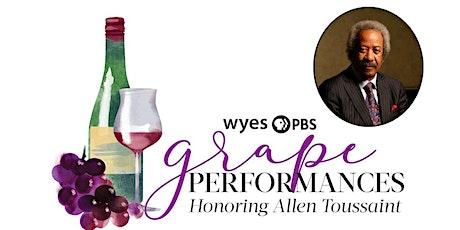 WYES Grape Performances Honoring Allen Toussaint tickets