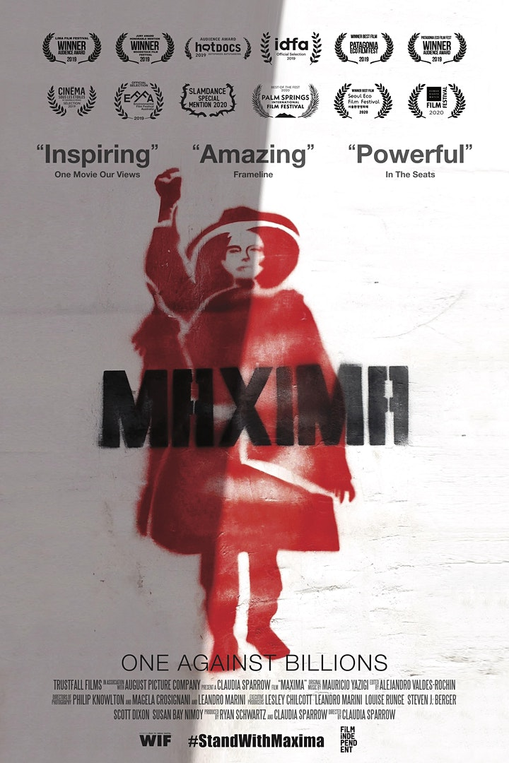 MÁXIMA Film Screening and Q&A image
