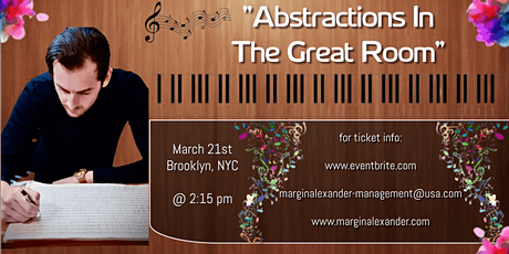 """Abstractions In The Great Room"" tickets"