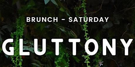 Saturday: Brunch tickets