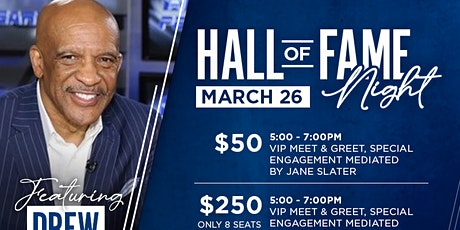 HALL OF FAME NIGHT WITH COWBOYS DREW PEARSON tickets