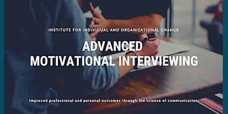 Advanced Motivational Interviewing tickets