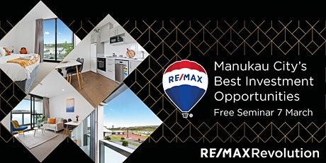 Manukau City's Best Property Investment Opportunities tickets
