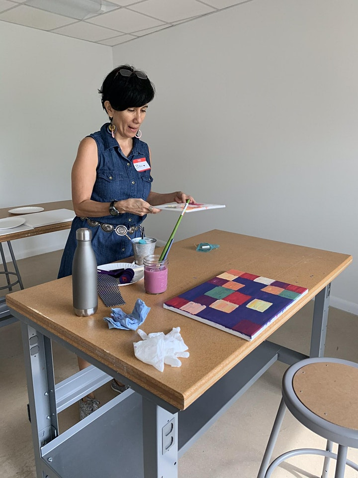Intro to Creativity | Acrylic Painting Workshop image