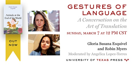 Gestures of Language: A Conversation on the Art of Translation tickets