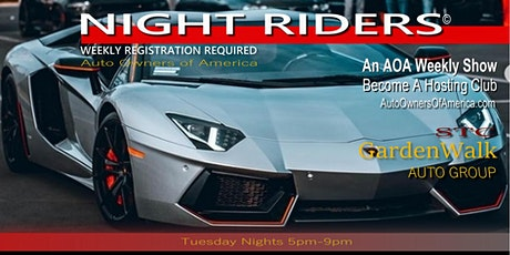 "Gardenwalk ""Night Riders©"" tickets"