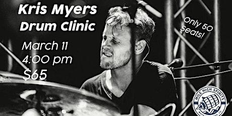 Kris Meyers Drum Clinic (Umphrey's McGee, Studio artist) tickets