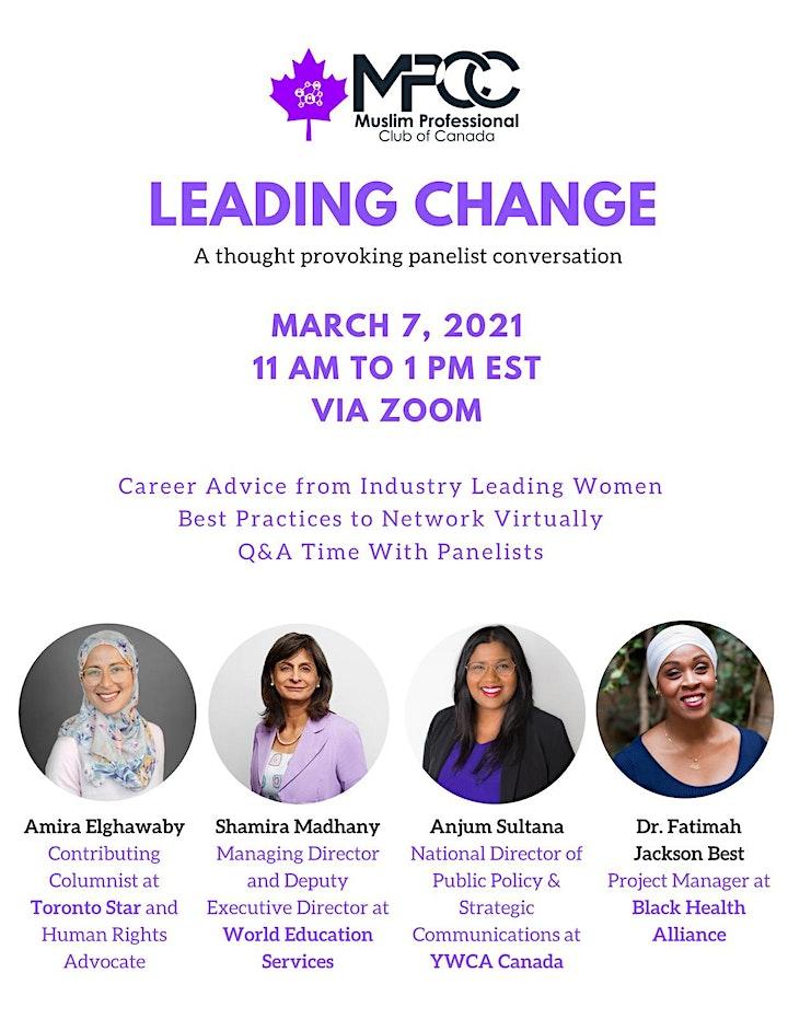 Leading Change - Celebrating Muslim Women Trailblazers image