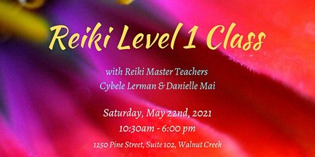 Reiki Level 1 Class tickets
