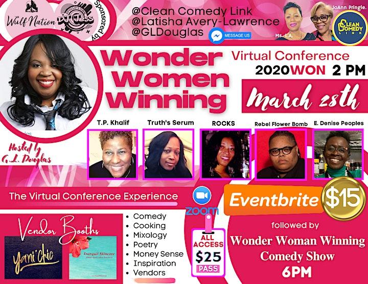 Wonder Women Winning in 2020WON Virtual Conference image