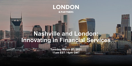 Nashville and London:  Innovating in Financial Services tickets
