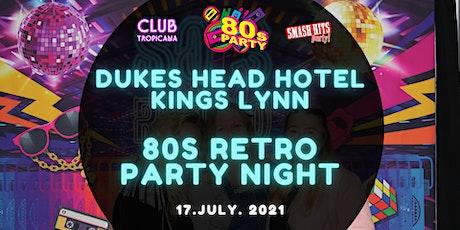 Club Tropicana 80's vs 90's Party Night tickets