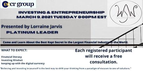 Investing & Entrepreneurship tickets
