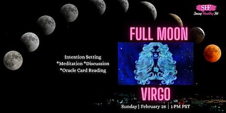 Full Moon in Virgo - Women's Circle, Meditation, Reflections [FREE] tickets