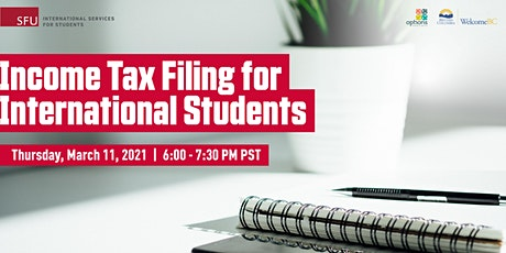 Income Tax Filing for International Students tickets