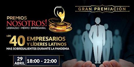PREMIOS NOSOTROS 2021 tickets