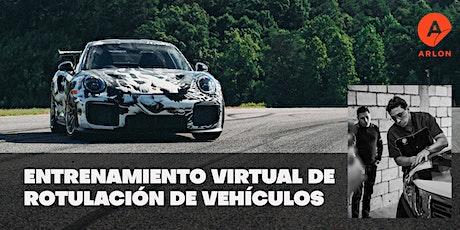 Entrenamiento Virtual de Rotulación de Vehículos boletos