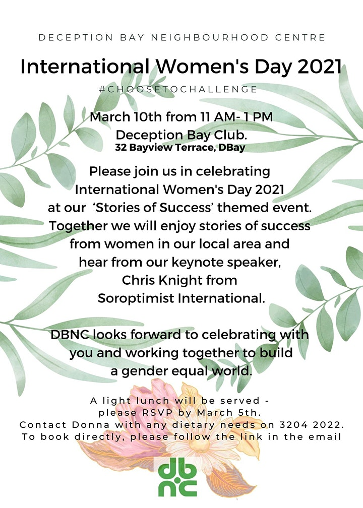 International Womens Day - Celebrating the success of women in the Bay image