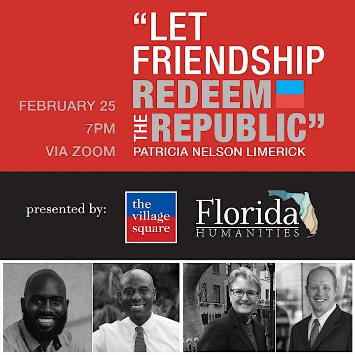 Let Friendship Redeem the Republic image