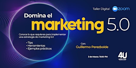 Taller de Marketing 5.0 entradas