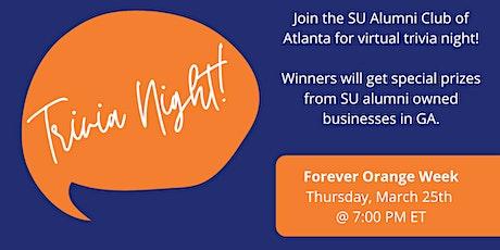 SU Alumni Club of Atlanta Presents: Trivia Night! tickets
