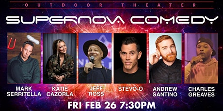 STEVE-O JEFF ROSS ANDREW SANTINO  LIVE OUTDOOR COMEDY SHOW tickets