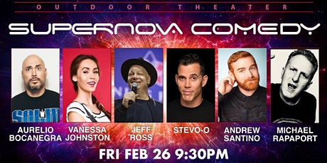 STEVE-O JEFF ROSS ANDREW SANTINO MARK SERRITELLA LIVE OUTDOOR COMEDY SHOW tickets