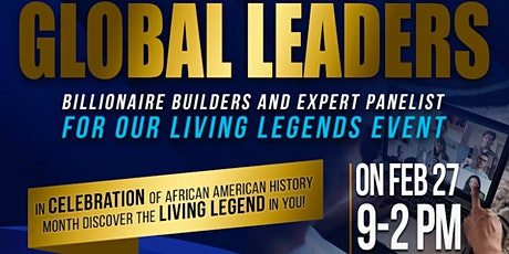 GODSU LIVING LEGENDS SPEAKERS SERIES FOR AFRICAN-AMERICAN MONTH 2021 tickets