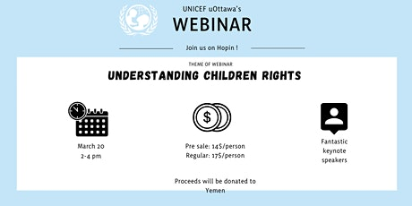 Understanding children rights with UNICEF uOttawa tickets