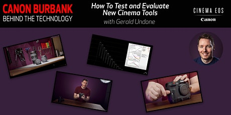 Virtual Canon Burbank: Behind the Technology with Gerald Undone tickets