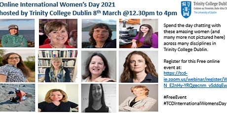 Trinity College Dublin International Women's Day tickets