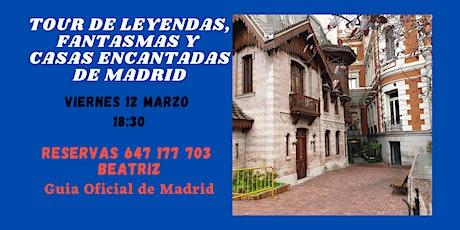 Madrid misterioso: Leyendas, fantasmas y casas encantadas entradas