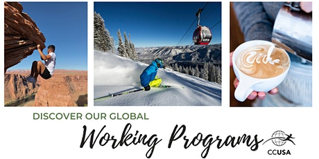 Discover Our Global Work Programs and Opportunities for 2021 & 2022 tickets