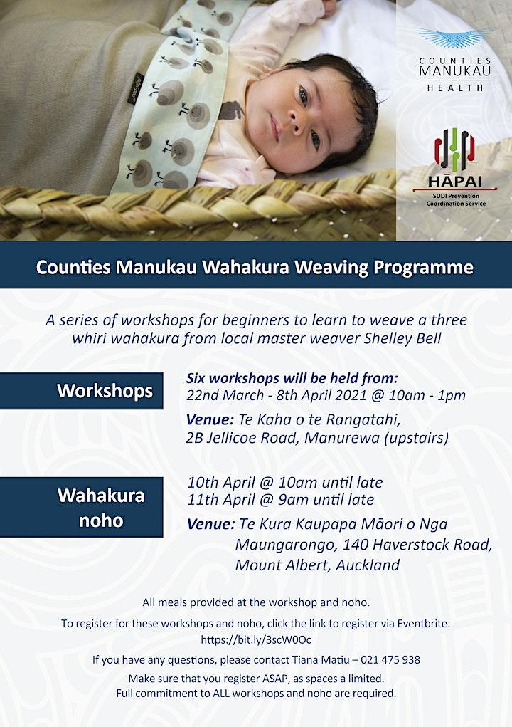 CMDHB Wānanga Wahakura image