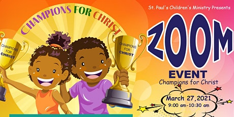 Champions for Christ - Children's Ministry Conference tickets