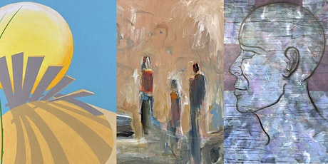 AIN Virtual Reception with Portola Neighborhood Artists - A New Beginning tickets