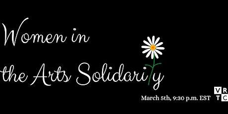 VRTC Women in the Arts Solidarity Night tickets