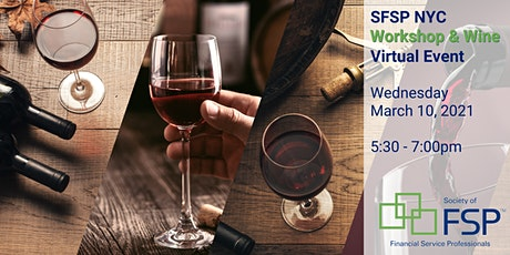 You're invited to our March Workshop & Wine Happy Hour! tickets
